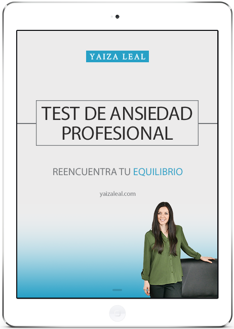 test ansiedad profesional
