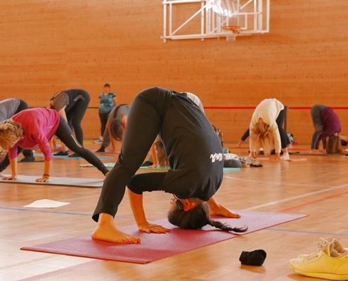 Experimentacción CALMA el evento de yoga de Cataluña Central