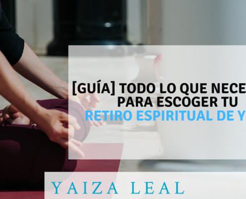 escoger retiro espiritual yoga