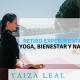 retiro experimentacción yoga meditacion bienestar